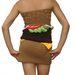 A hamburgerruha hátulról