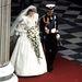 1981 - Lady Diana menyasszonyi ruhában