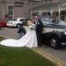 Joanne Kent egy old timert is kibérelt az esküvőhöz