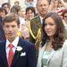 Alexandra hercegnő öccsével, Sebestyén herceggel