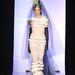 A 19 éves szerb modell mutatta be Gaultier esküvői ruháját a párizsi divathéten.