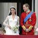 Kate és William az erkélyen...
