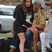Jade Jagger az érkező vendégek között
