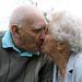 David és Betty Davidson a 76. házassági évfordulójukon 2010-ben