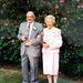 David és Betty Davidson a 70. házassági évfordulójukon 2004-ben