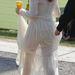 2010. június - Florence Welch hátulról a Glastonbury fesztiválon