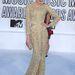 2010. szeptember - Florence Welch azon az MTV Video Music Awards díjkiosztón, amelyiken Lady Gaga a húsdresszben volt