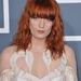 2011. február - Florence Welch magán a 2011-es Grammy-díjkiosztón