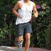 Korábbi fotók Leandro Pennáról: itt éppen futni volt tavalyi spanyolországi nyaralásuk közben