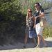 Rafael és Sylvie van der Vaart érkeznek a strandra Saint Tropez-ban
