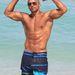 Shemar Moore Miamiben a strandon befeszít