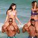 Shemar Moore Miamiben a strandon követőre talált
