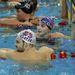 4. A brit úszócsapat két csillaga, Caitlin McClatchey és Liam Tancock együtt edzettek. Már évek óta járnak, ez egy tavalyi fotó róluk, de a most a londoni olimpián is indultak mindketten