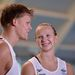 7. Két ausztrál úszó - egy pár. Ők Chris Wright és Melanie Schlanger.