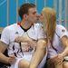 2. Britta Steffen és Paul Biedermann csókot vált egy edzésen Londonban. Mindketten  németek, és mindketten világcsúcstartók úszásban.