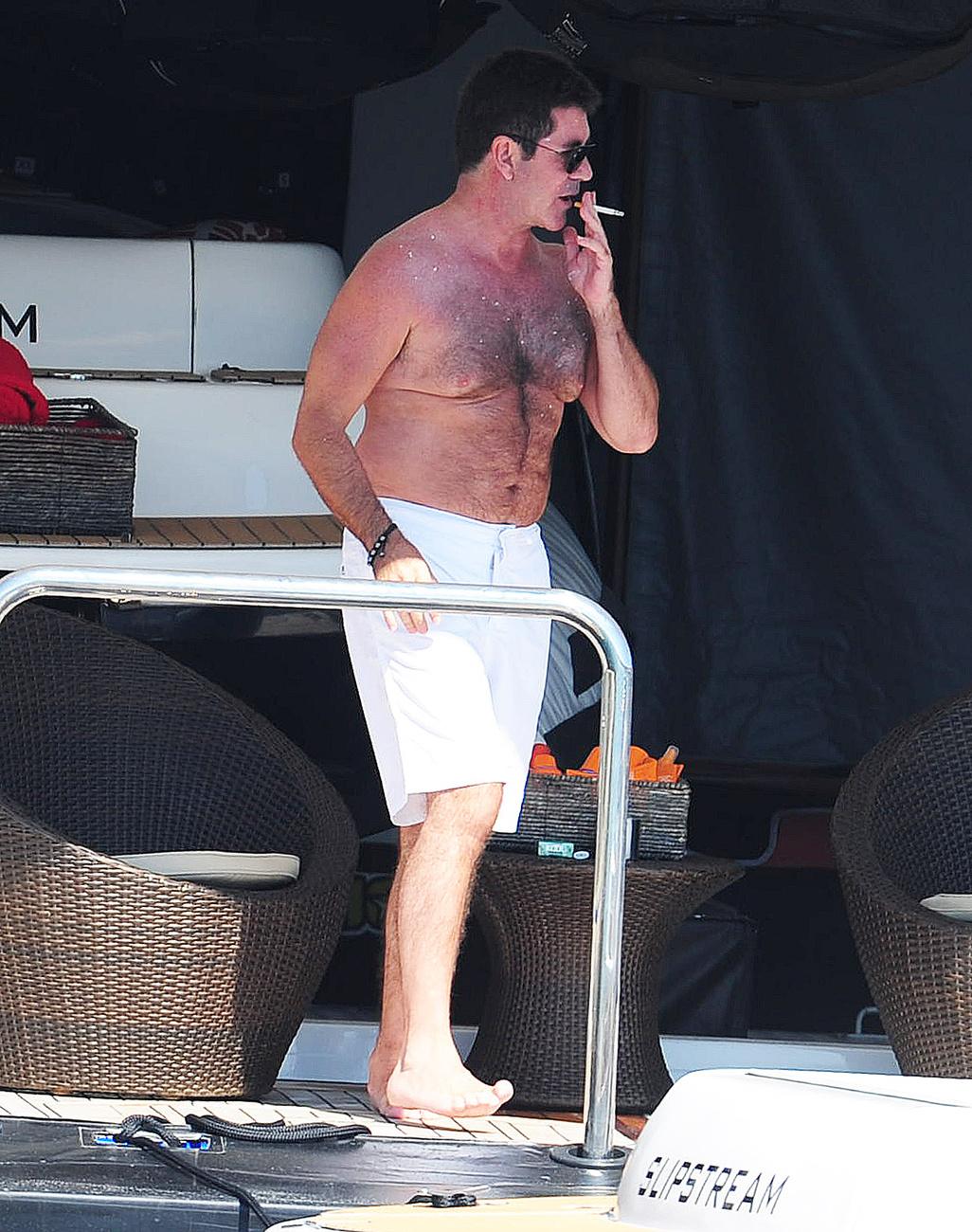 Simon Cowell jetskizik