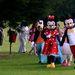 A teljes násznép, mindenki más Disney-figurának beöltözve
