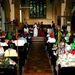 Julie és Jason Webb Flint a 20. házassági évfordulójuk alkalmából rendezett templomi ceremónián