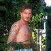 David Beckhamet a bokroknál fotózzák