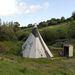 Shaun Ellis sátra Angliában