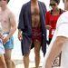 Jon Hamm fürdőköpenyben a Mad Men hatodik évadjának forgatásán, Mauin