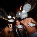 Halloween-karnevál nyugat-Hollywood utcáin - ők a Deadmau5-fejűek