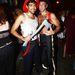 Halloween-karnevál nyugat-Hollywood utcáin - ők a tűzoltók