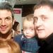 A Harris-Beard család találkozott Peter Andréval is