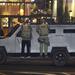A rendőrség nagy erőkkel vonult a helyszínre