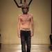 2012. június: a kifutón a Philipp Plein-divatbemutatón, Milánóban