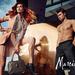 A Guess by Marciano reklámja. Érdekes, hogy a hölgynek a tükörképe is szemből van, már ha sikerül levennie a tekintetét a fiatalemberről