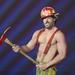 Joe Manganiello az MTV Movie Awardson 2012. június 3-án erotikus tűzoltóként