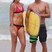 Daniela Hantuchovát egy profi szörfös, Julian Wilson tanítja hullámlovagolni