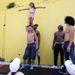 A Circolombia akrobatái, Jonathon, Lil-Louce, Yeckly és Krespo, Ausztráliában trükköznek a gyerekekkel
