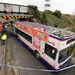 A briteknél is vagy Ferihegyi gyorsforgalmi út: egy emeletes busz akadt bele.