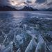 Chip Phillips kanadai fotósnak az a heppje, hogy a befagyott Abraham-tavat fotózza.