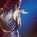 1972-ben megint élő kígyóval, ezúttal egy londoni koncerten