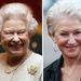 II. Erzsében és Helen Mirren, a filmbéli Királynő