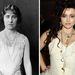 A néhai Erzsébet anyakirályné, és Helena Bonham-Carter, aki a Király beszédében őt játszotta