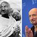Ghandi és a szerepéért 1982-ben Oscart nyert Ben Kingsley