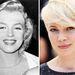 Marilyn Monroe és az őt alakító Michelle Williams