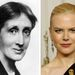 Virginia Woolf és Nicole Kidman, mindketten a saját orrukkal. Az Órákban Kidmannak műorra volt