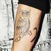 Justin Bieber új tetoválása: egy X a bagoly mellé
