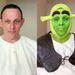 Paul Bellas, a vőlegény, sminkelés előtt és után