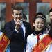 David Beckham kínai rajongókkal