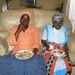 Az asszony férje nagymamájával vacsorázik