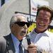 Idősen, Schwarzeneggerrel, a 2006-os Muscle Beach Championship testépítő bajnokságon.