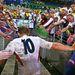 Ezzel szemben 2003-ban Johnny Wilkinsont nagy örömmel fogadták a rögbiszurkolók
