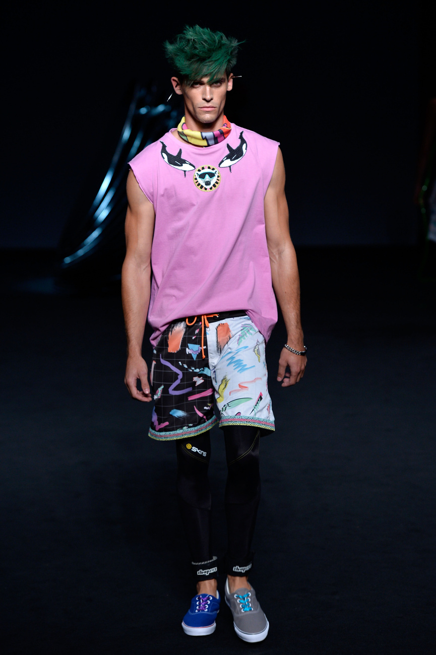 Egy modell a színfalak mögött Sydney divathetén