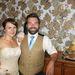 Pont, amiről álmodott: a házaspár az esküvő napján